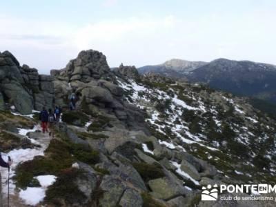 Ruta por el valle de Fuenfría, Siete Picos; senderismo con perros madrid; singles con niños madrid